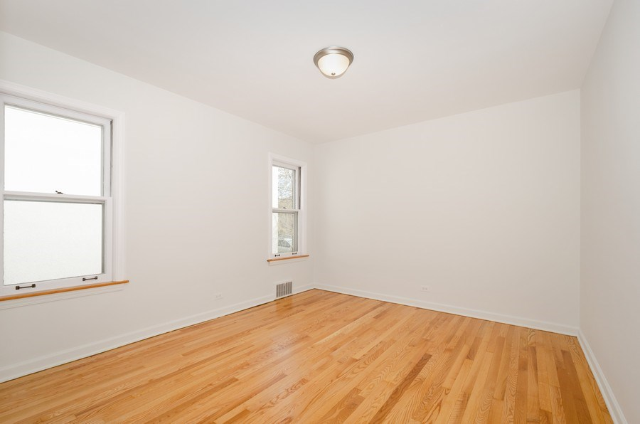 Real Estate Photography - 6132 N. Karlov Avenue, Chicago, IL, 60646 - Bedroom