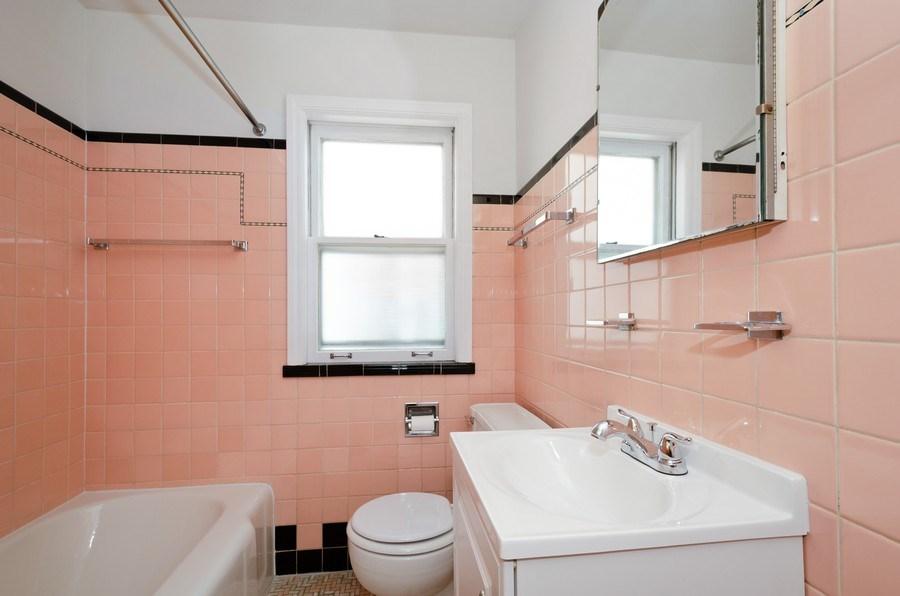 Real Estate Photography - 6132 N. Karlov Avenue, Chicago, IL, 60646 - Bathroom