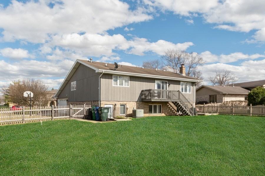 Real Estate Photography - 15332 Paddock Lane, Homer Glen, IL, 60491 - Rear View