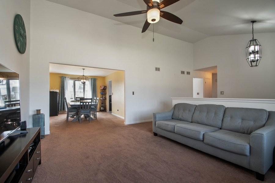 Real Estate Photography - 15332 Paddock Lane, Homer Glen, IL, 60491 - Living Room / Dining Room