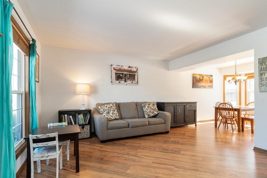 Real Estate Photography - 2730 Leyland Lane, Aurora, IL, 60504 - Living Room / Dining Room