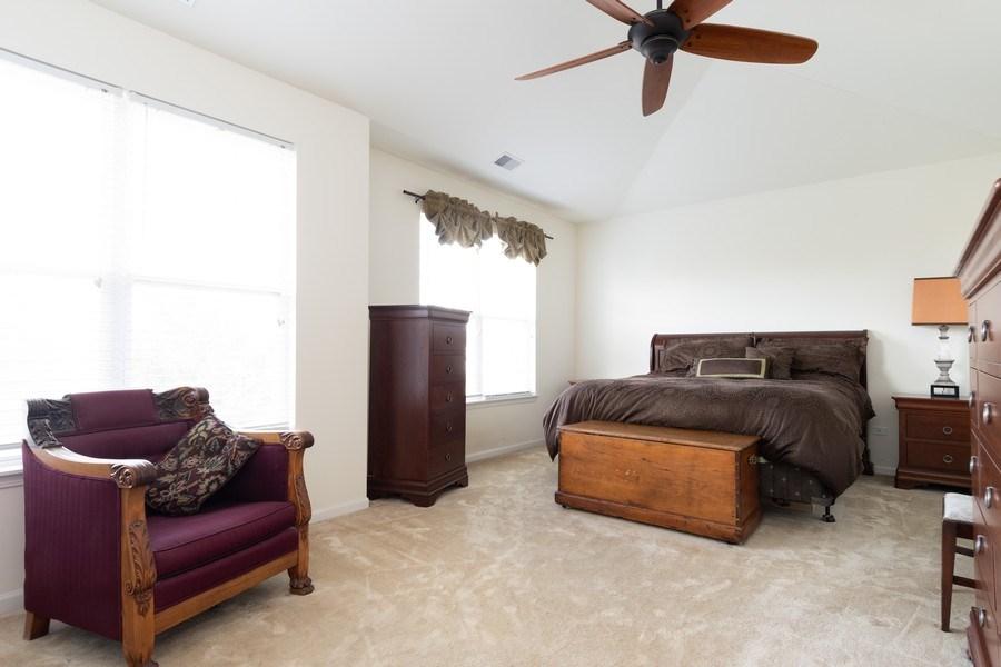 Real Estate Photography - 1132 FOXRIDGE Lane, Aurora, IL, 60502 - Master Bedroom