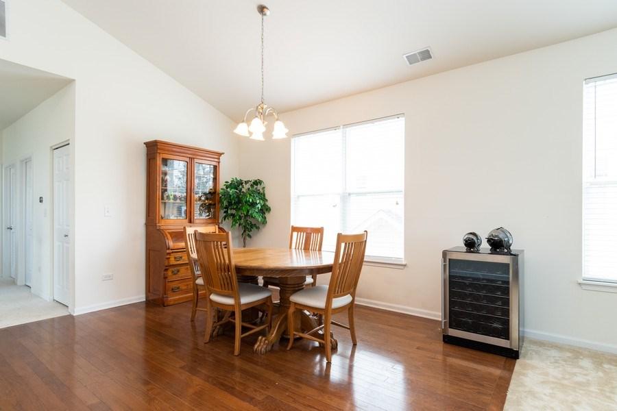 Real Estate Photography - 1132 FOXRIDGE Lane, Aurora, IL, 60502 - Dining Room