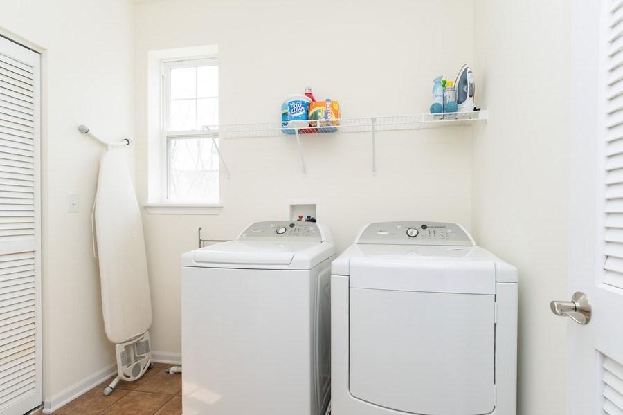 Real Estate Photography - 1132 FOXRIDGE Lane, Aurora, IL, 60502 - Laundry Room