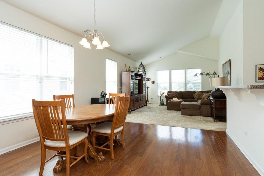 Real Estate Photography - 1132 FOXRIDGE Lane, Aurora, IL, 60502 - Family Room / Dining Room