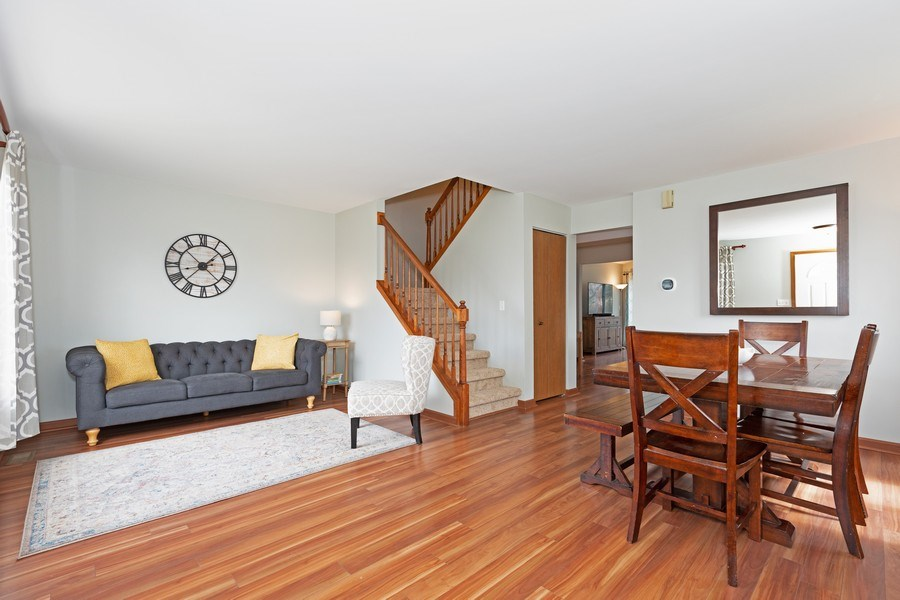 Real Estate Photography - 2805 Diane Drive, Aurora, IL, 60504 - Living Room