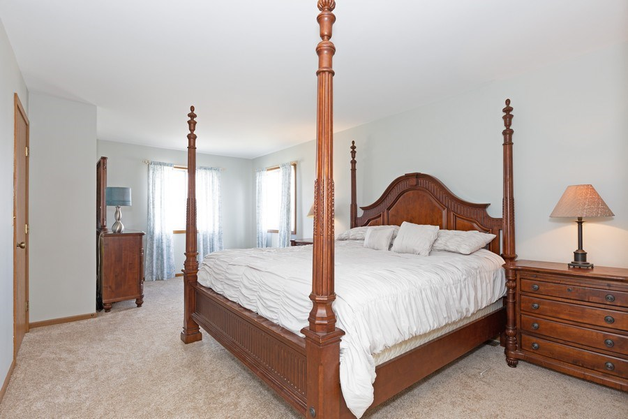 Real Estate Photography - 2805 Diane Drive, Aurora, IL, 60504 - Master Bedroom