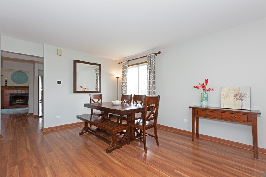 Real Estate Photography - 2805 Diane Drive, Aurora, IL, 60504 - Dining Room
