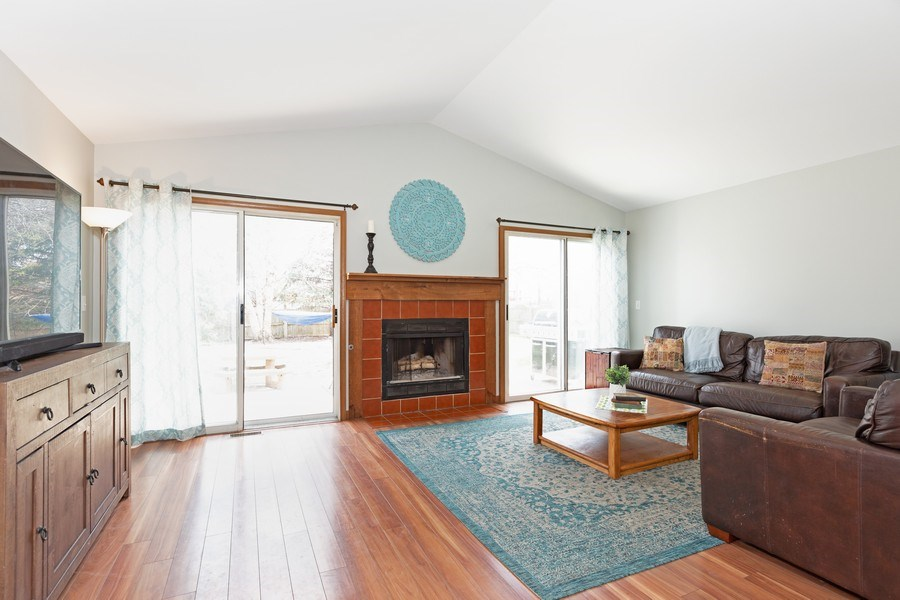 Real Estate Photography - 2805 Diane Drive, Aurora, IL, 60504 - Family Room