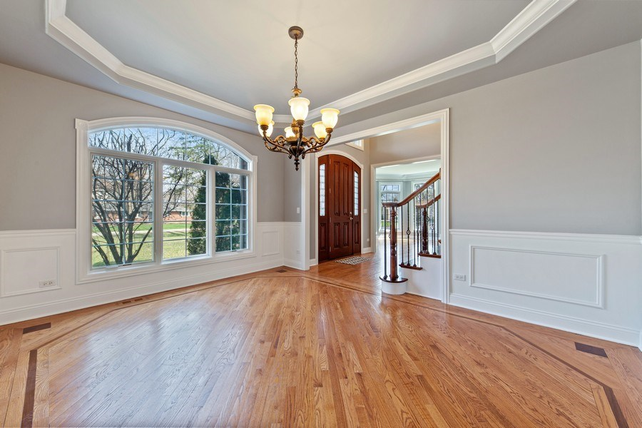 Real Estate Photography - 6816 Quincy, Willowbrook, IL, 60527 - Dining Room