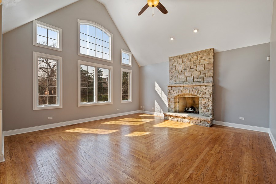 Real Estate Photography - 6816 Quincy, Willowbrook, IL, 60527 - Family Room