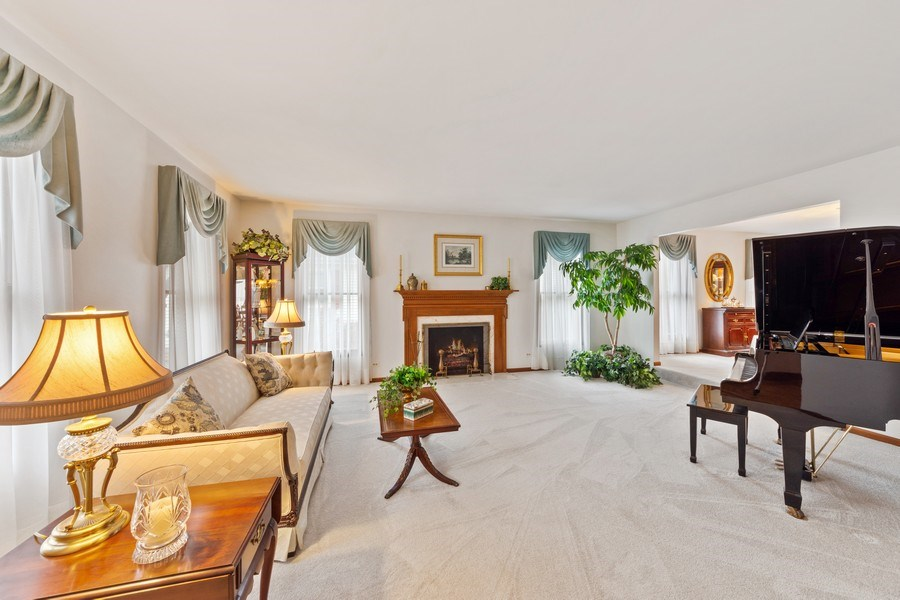 Real Estate Photography - 4017 Mitchell Drive, Arlington Heights, IL, 60004 - Living Room