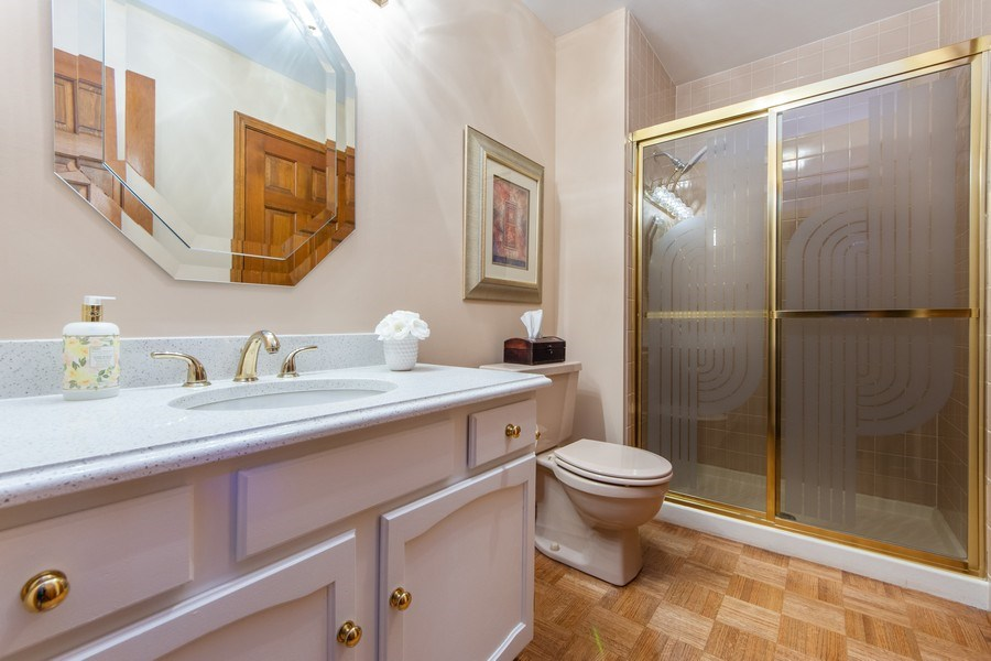 Real Estate Photography - 4017 Mitchell Drive, Arlington Heights, IL, 60004 - 3rd Bathroom