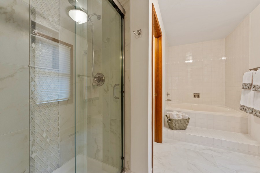 Real Estate Photography - 4017 Mitchell Drive, Arlington Heights, IL, 60004 - Master Bathroom