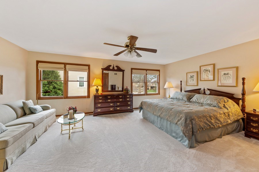 Real Estate Photography - 4017 Mitchell Drive, Arlington Heights, IL, 60004 - Master Bedroom