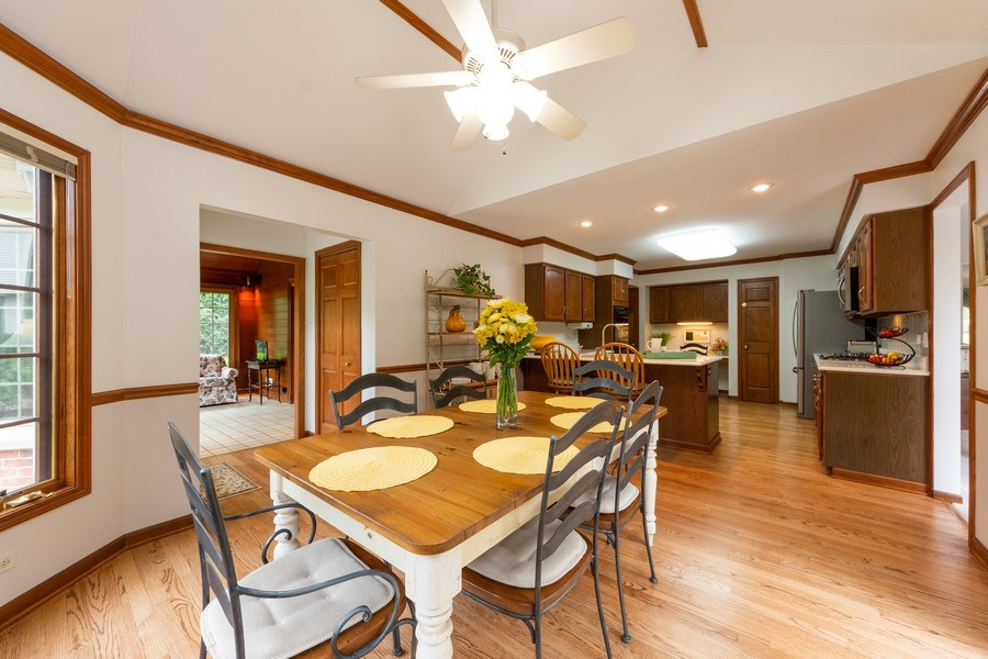 Real Estate Photography - 4017 Mitchell Drive, Arlington Heights, IL, 60004 - Kitchen / Breakfast Room