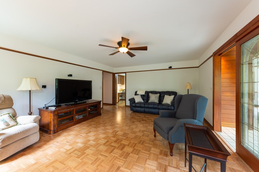 Real Estate Photography - 4017 Mitchell Drive, Arlington Heights, IL, 60004 - Family Room