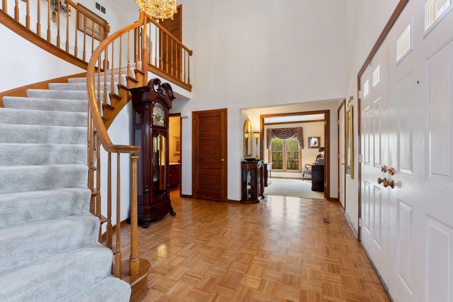 Real Estate Photography - 4017 Mitchell Drive, Arlington Heights, IL, 60004 - Foyer