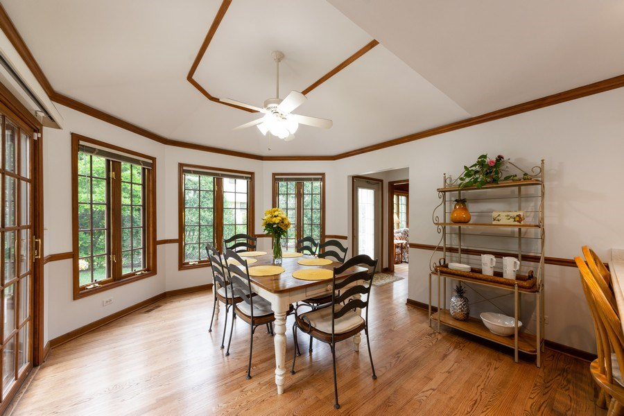 Real Estate Photography - 4017 Mitchell Drive, Arlington Heights, IL, 60004 - Breakfast Area