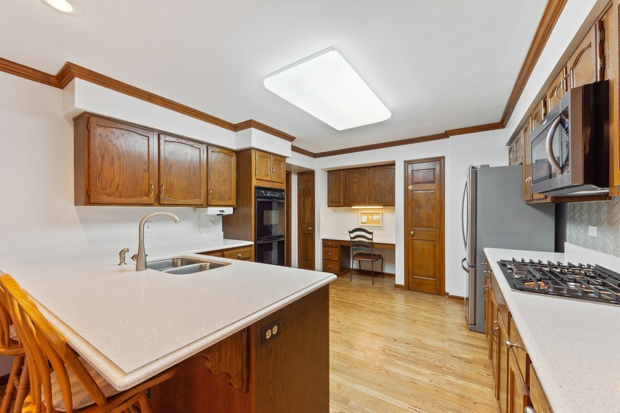 Real Estate Photography - 4017 Mitchell Drive, Arlington Heights, IL, 60004 - Kitchen