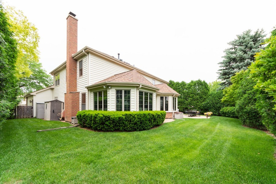 Real Estate Photography - 4017 Mitchell Drive, Arlington Heights, IL, 60004 - Rear View