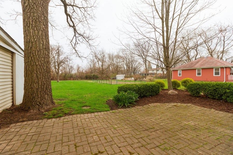Real Estate Photography - 117 N. White Street, Frankfort, IL, 60423 - Patio