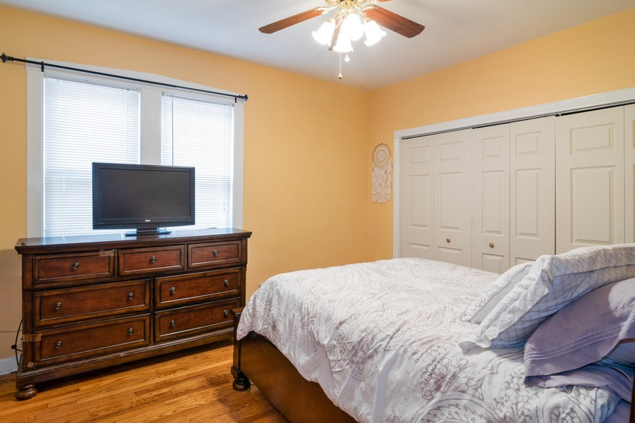 Real Estate Photography - 2902 N. Newcastle Avenue, Chicago, IL, 60634 - Master Bedroom