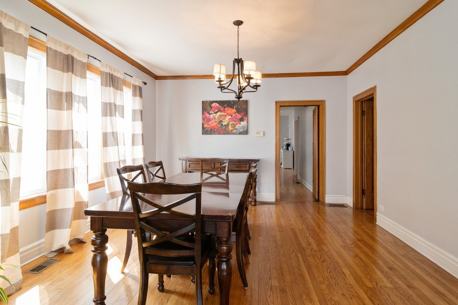 Real Estate Photography - 2902 N. Newcastle Avenue, Chicago, IL, 60634 - Dining Room