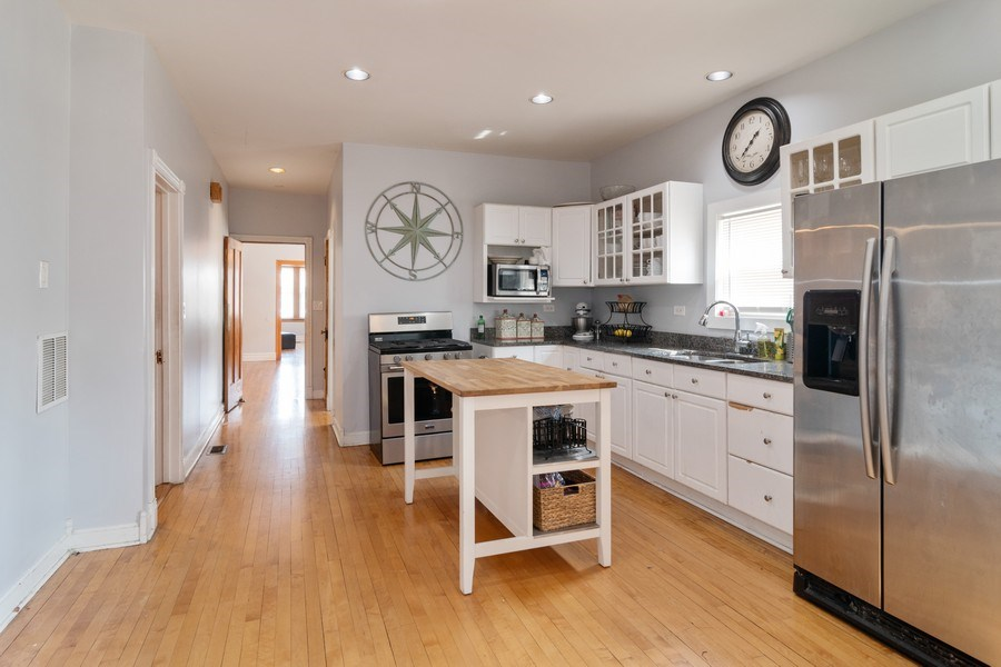 Real Estate Photography - 2902 N. Newcastle Avenue, Chicago, IL, 60634 - Kitchen