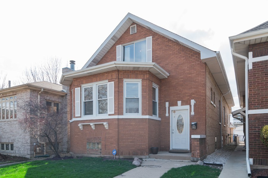 Real Estate Photography - 2902 N. Newcastle Avenue, Chicago, IL, 60634 - Front View