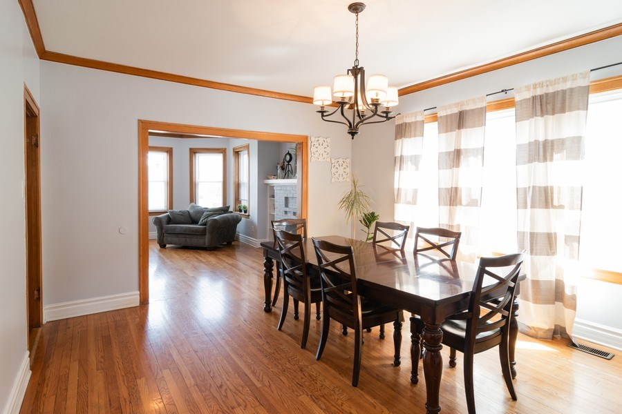 Real Estate Photography - 2902 N. Newcastle Avenue, Chicago, IL, 60634 - Living Room / Dining Room