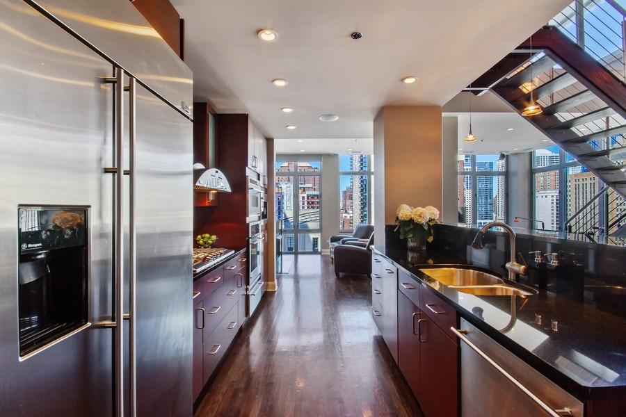 Real Estate Photography - 101 W. Superior Street, Unit 1204, Chicago, IL, 60611 - Kitchen