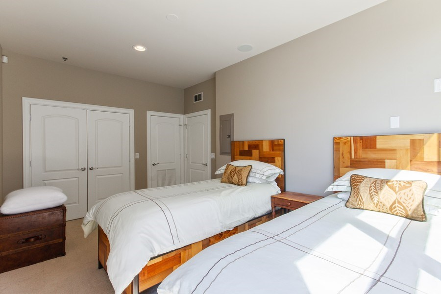 Real Estate Photography - 101 W. Superior Street, Unit 1204, Chicago, IL, 60611 - Bedroom