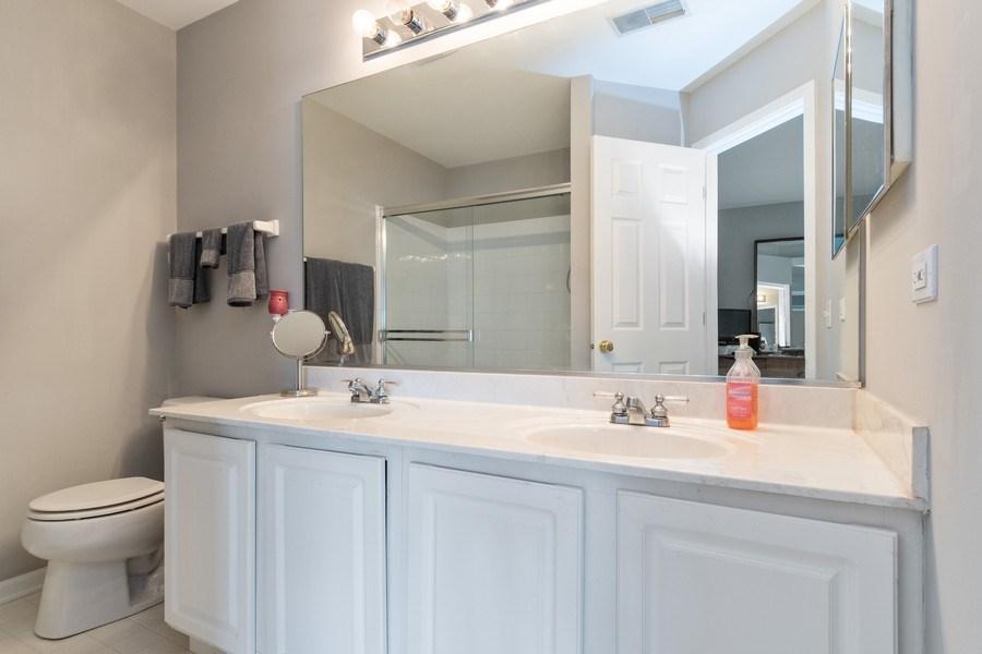Real Estate Photography - 2214 Daybreak Drive, Aurora, IL, 60503 - Master Bathroom