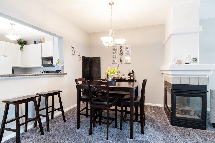Real Estate Photography - 2214 Daybreak Drive, Aurora, IL, 60503 - Dining Room