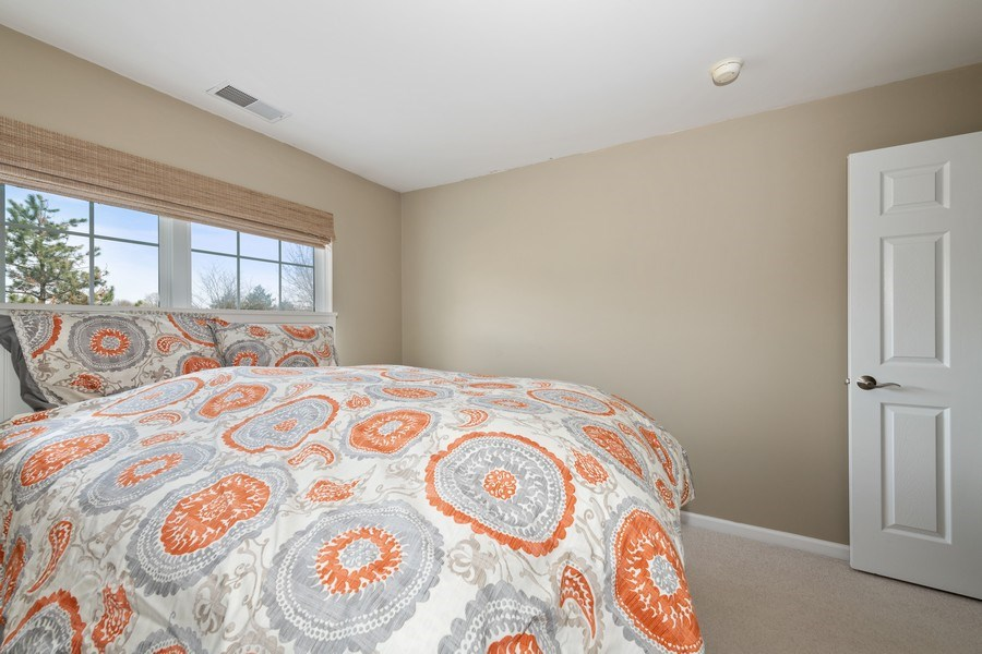 Real Estate Photography - 2477 Wilton Lane, Unit 2477, Aurora, IL, 60502 - 2nd Bedroom