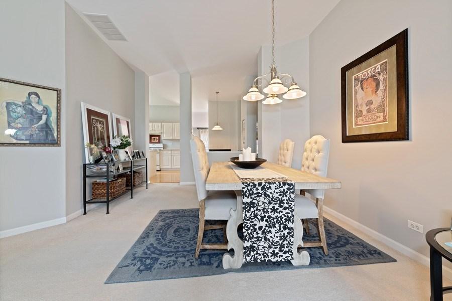 Real Estate Photography - 2477 Wilton Lane, Unit 2477, Aurora, IL, 60502 - Dining Room