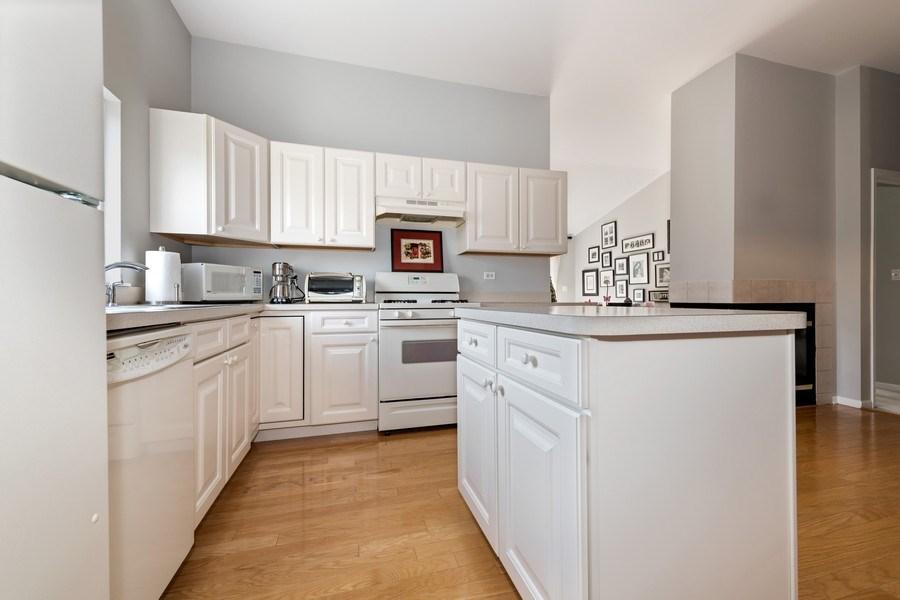Real Estate Photography - 2477 Wilton Lane, Unit 2477, Aurora, IL, 60502 - Kitchen