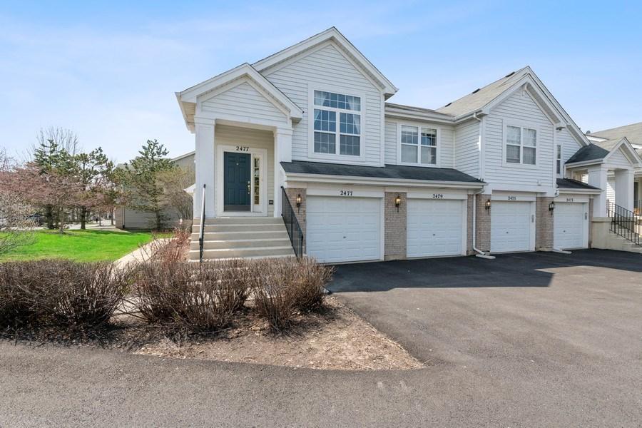 Real Estate Photography - 2477 Wilton Lane, Unit 2477, Aurora, IL, 60502 - Front View