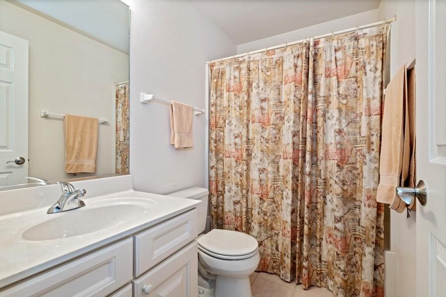 Real Estate Photography - 2477 Wilton Lane, Unit 2477, Aurora, IL, 60502 - Bathroom