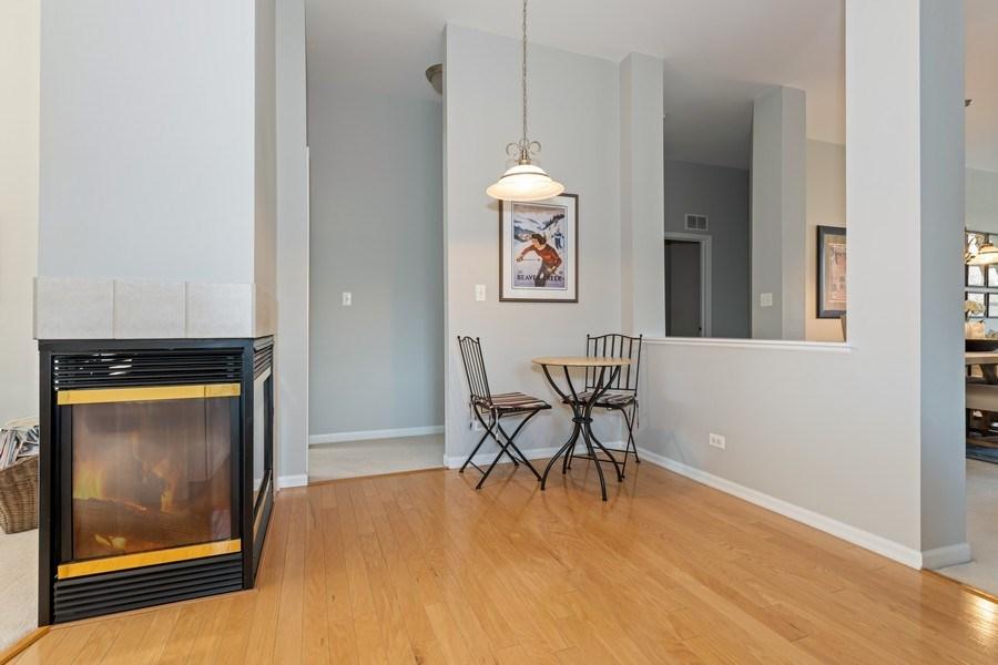Real Estate Photography - 2477 Wilton Lane, Unit 2477, Aurora, IL, 60502 - Breakfast Nook
