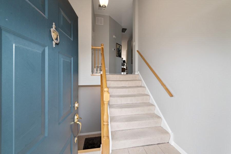 Real Estate Photography - 2477 Wilton Lane, Unit 2477, Aurora, IL, 60502 - Entryway