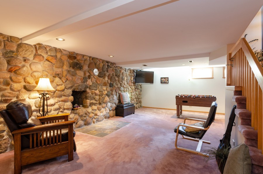 Real Estate Photography - 18N579 Field Ct, Dundee, IL, 60118 - Basement
