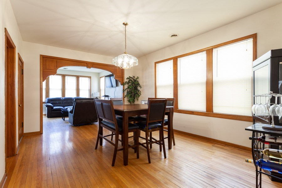 Real Estate Photography - 1309 Ridgeland Ave, Berwyn, IL, 60402 - Living Room / Dining Room