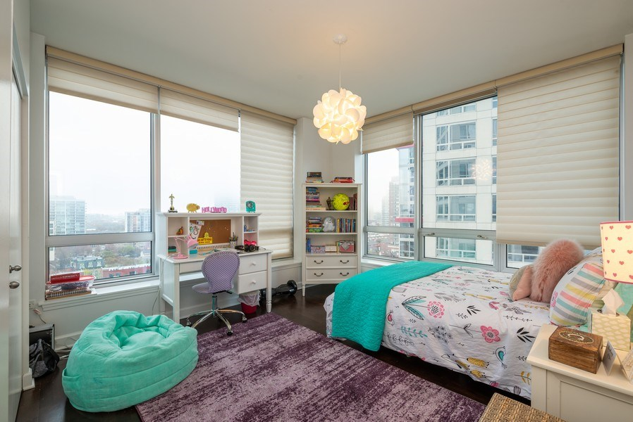 Real Estate Photography - 1901 S. Calumet Avenue, Unit 1407, Chicago, IL, 60616 - 3rd Bedroom
