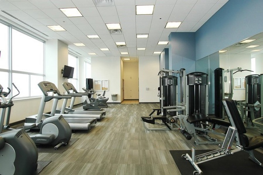Real Estate Photography - 1901 S. Calumet Avenue, Unit 1407, Chicago, IL, 60616 - Exercise Room