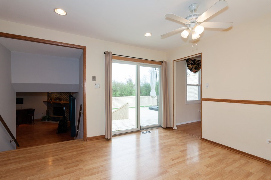 Real Estate Photography - 10S225 Kaye Ln, Willowbrook, IL, 60527 - Living Room / Dining Room