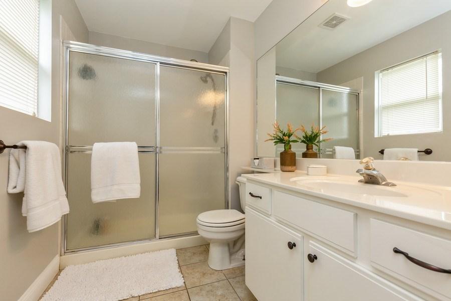 Real Estate Photography - 2801 HILLSBORO Lane, Lake In The Hills, IL, 60156 - Master Bathroom