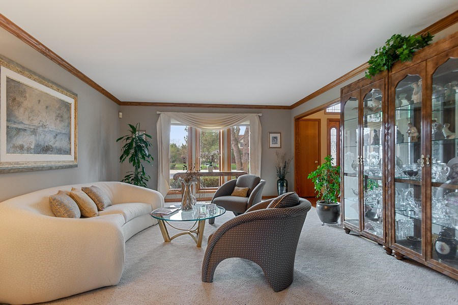 Real Estate Photography - 108 Andover Drive, Prospect Heights, IL, 60070 - Living Room