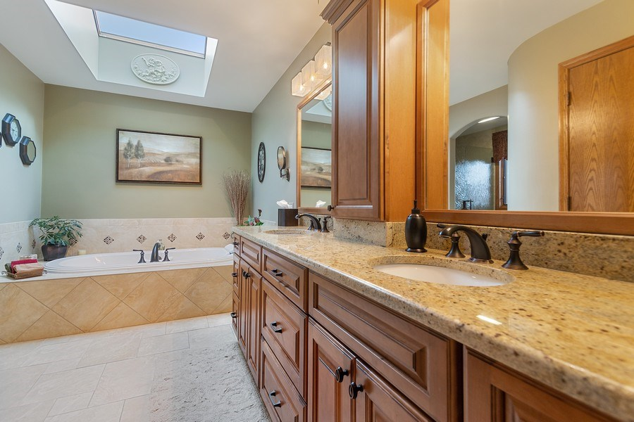 Real Estate Photography - 108 Andover Drive, Prospect Heights, IL, 60070 - Master Bathroom